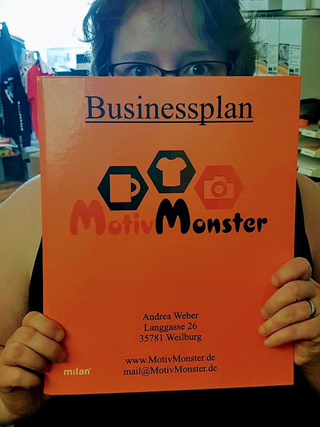 Businessplan MotivMonster - Bank Mappe
