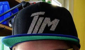Basecap mit Name von Tim