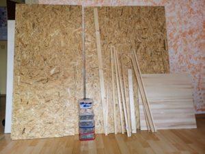 Material für den DIY Hamsterkäfig
