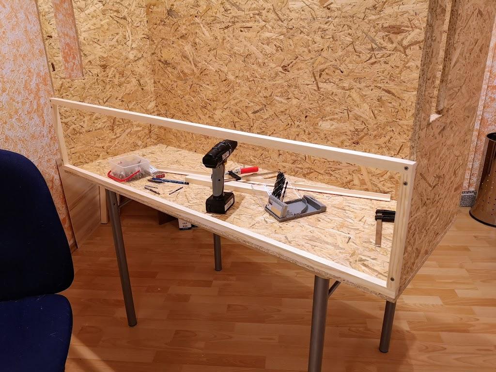 Bau eines Hamsterkäfigs